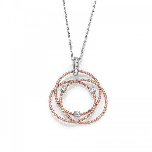 Infinity Rings Neckalce