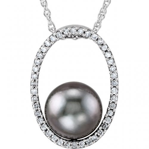 Tahitian Cultured Pearl Diamond