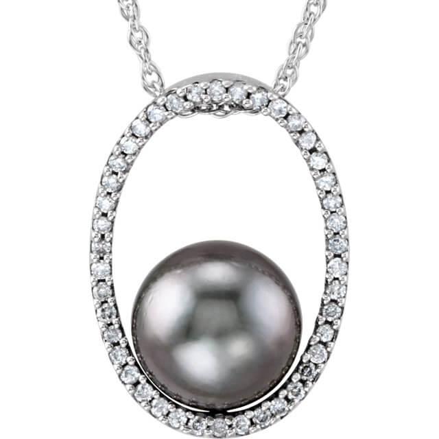 Tahitian Cultured Pearl Diamond