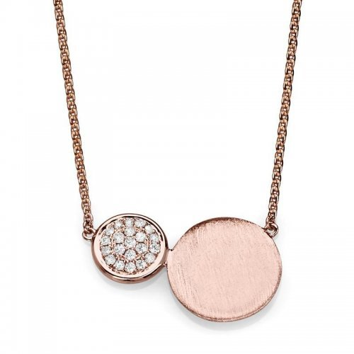 Twin Gold Discs Engravable Necklaces