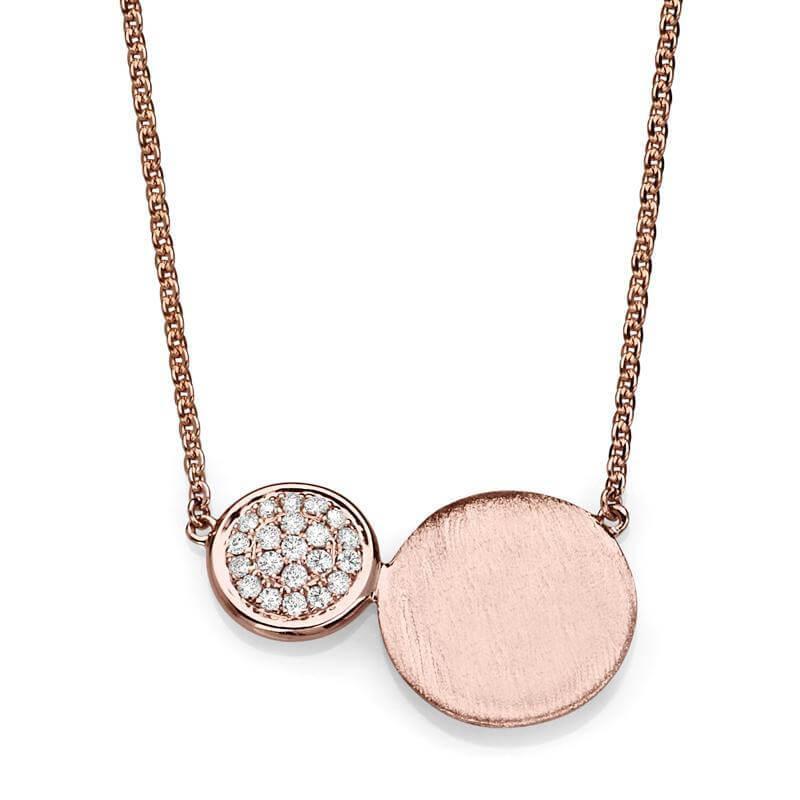 Twin Gold Discs Engravable Necklaces