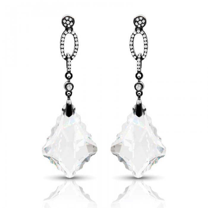 Designer Diamond Chandelier Earrings