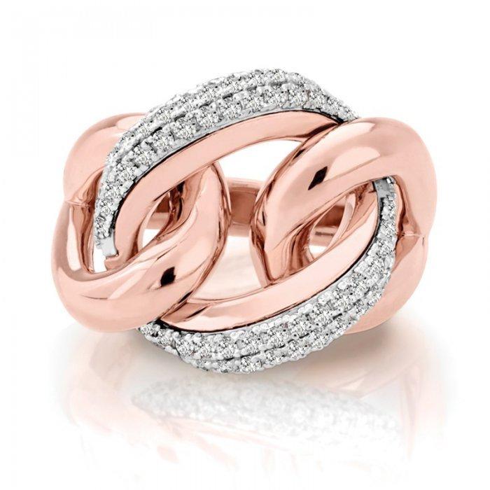 Diamond Right Hand Fashion Ring