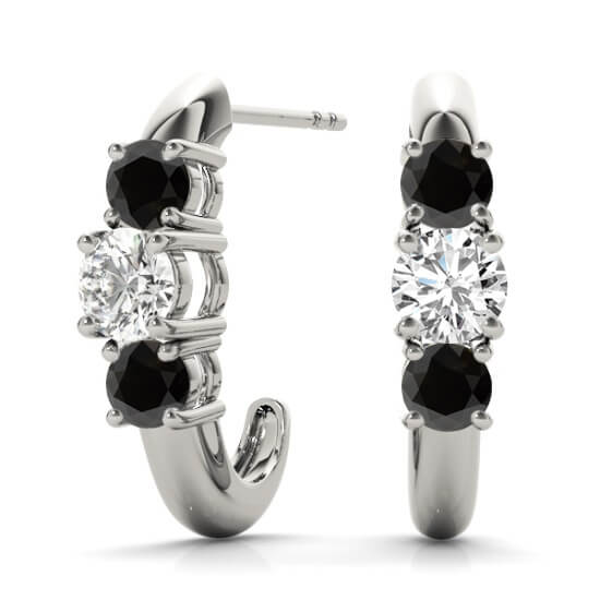 Black Diamond Half Hoops