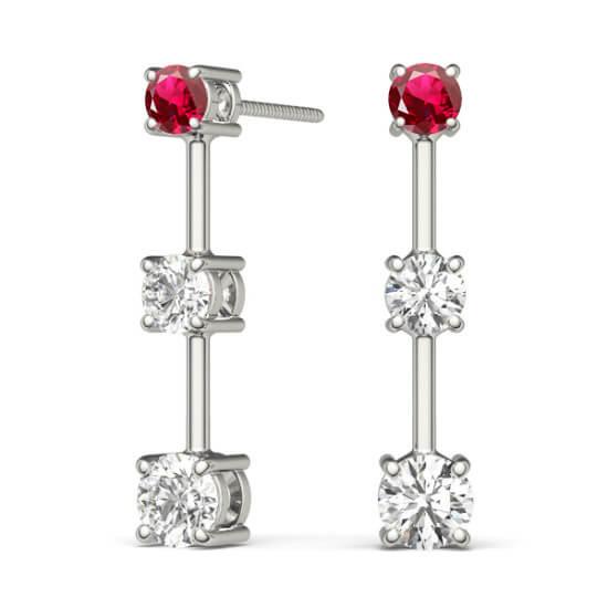 Ruby Diamond Drops