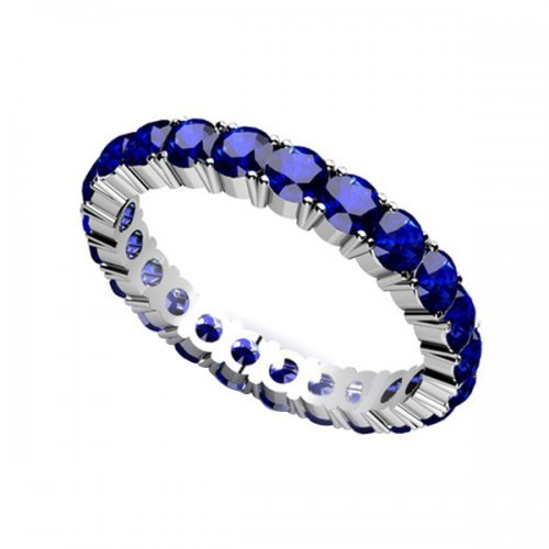 Blue Sapphire Eternity Jewelrypoint