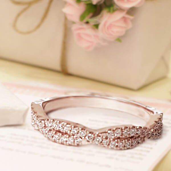 Pink Infinity Wedding 600x600