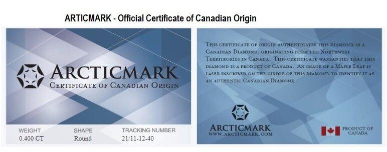 Articmark Certificate