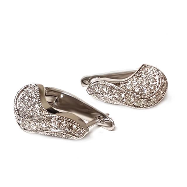 Infinity Huggie Earrings