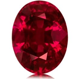 Mozambique Oval Faceted Genuine Ruby