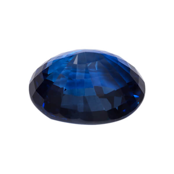 Oval Genuine Faceted Blue Sapphire2