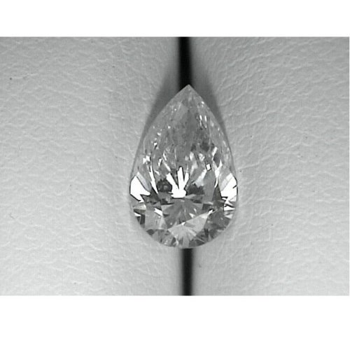 Pear Cut Canadian Diamond