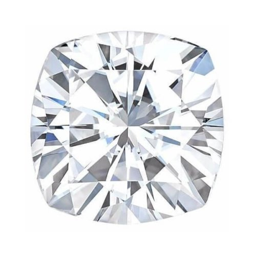 Cushion Forever One Charles Colvard Loose Moissanite Stone