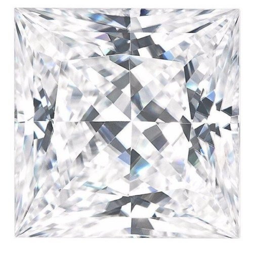 Princess Forever One Charles Colvard Loose Moissanite Stone