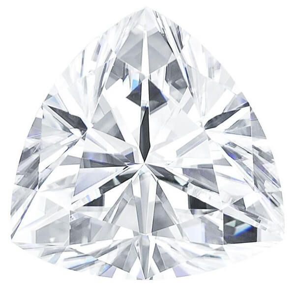 Trillion Forever One Charles Colvard Loose Moissanite Stone