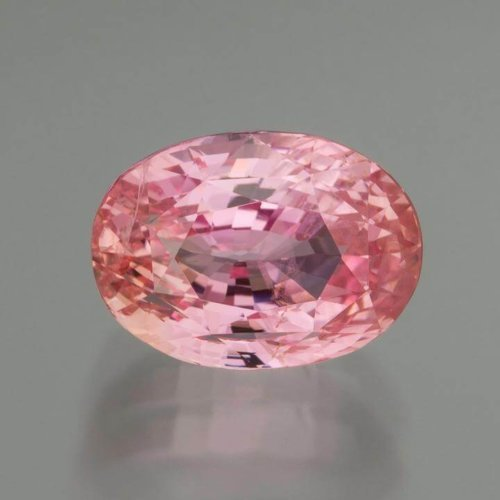 Certified Sri Lankan Unheated Exceptional Padparadsha Sapphire in Oval Cut