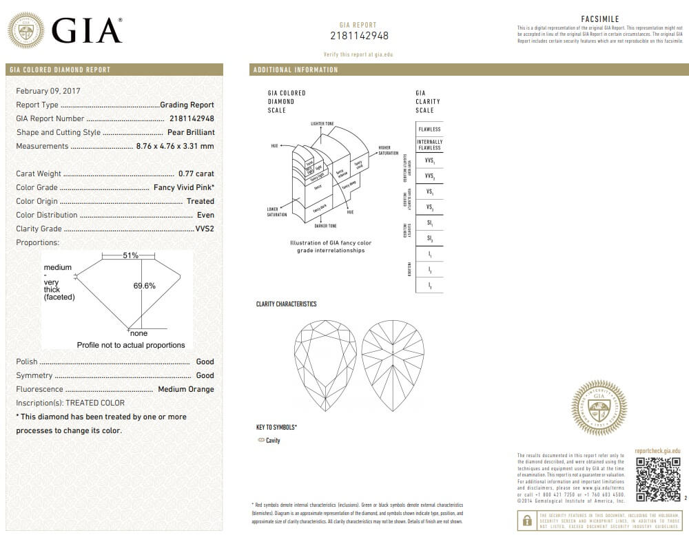 Gia Report 2181142948