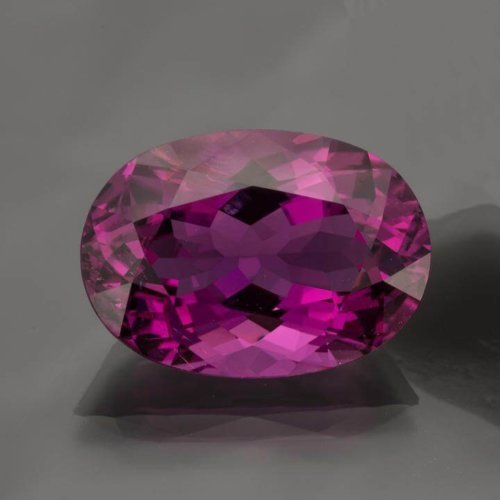 Oval Neon Purple Tourmaline 17 24 Cts