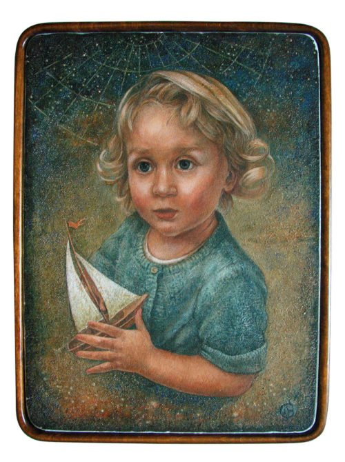 Child Portrait Painting