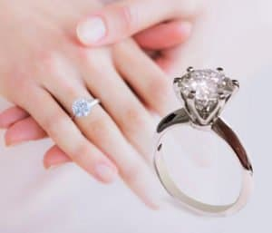 blog Classic Diamond Six Prongs Solitaire Engagement Ring