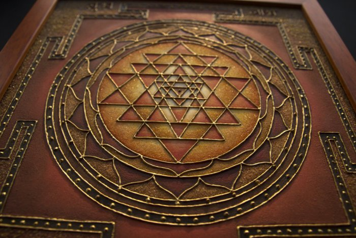 Sri Yantra Hindu Buddhist Art