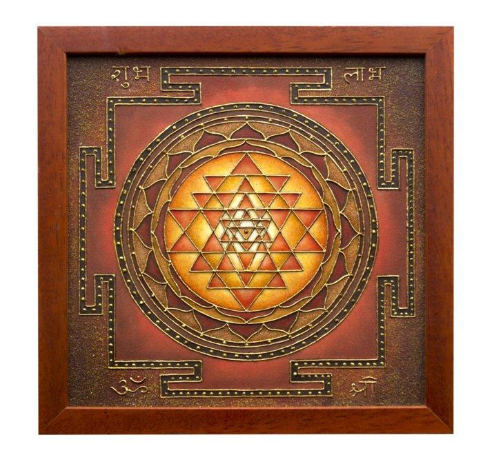 Sri Yantra Sacred Geometry