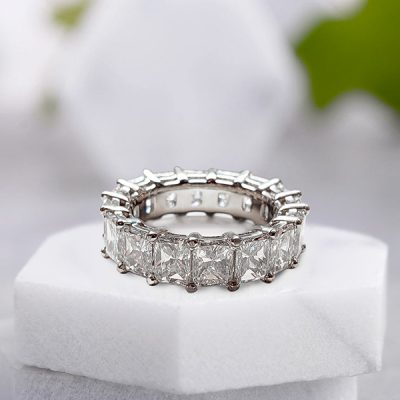 Radiant Diamond Eternity RIng