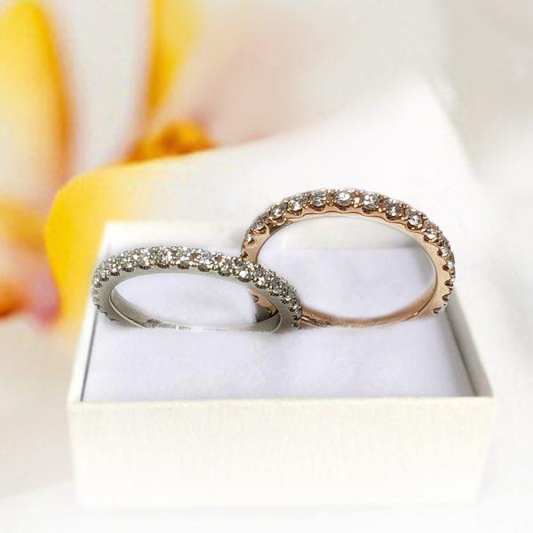 Eternity Rings Set