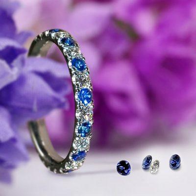 Wedding Eternity Ring In Platinum