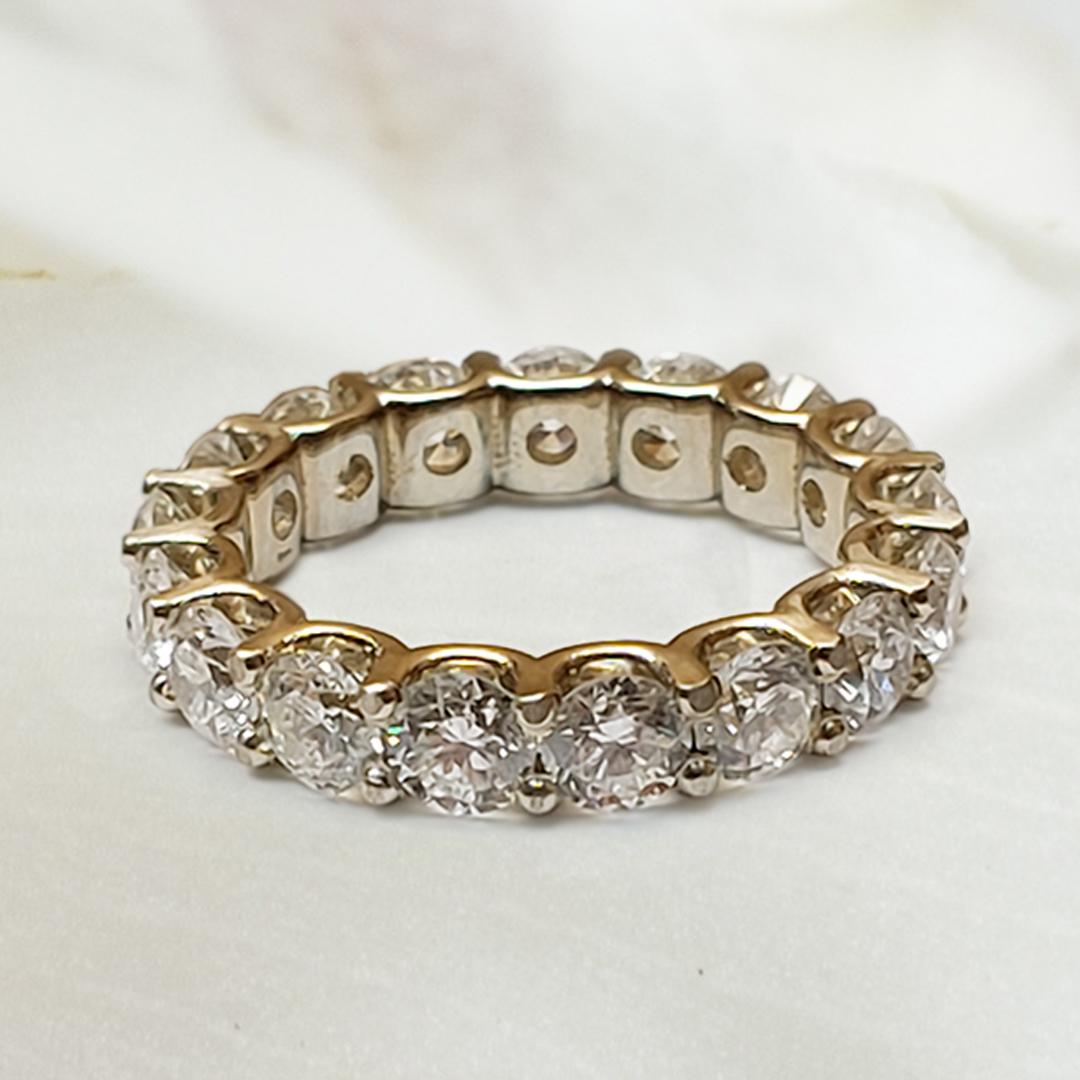 Uprong Eternity Wedding Ring