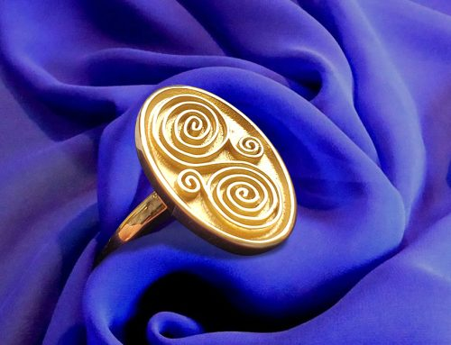 Art Inspired Art Deco Men's Signet Ring