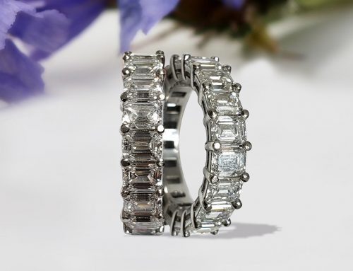 Marquise cut Diamond Eternity Wedding Ring