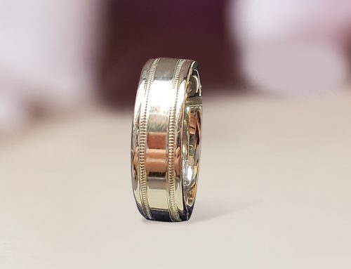 Men's Fancy Engraved Wedding Band