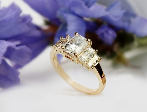 Art Deco Five-stone Engagement Ring