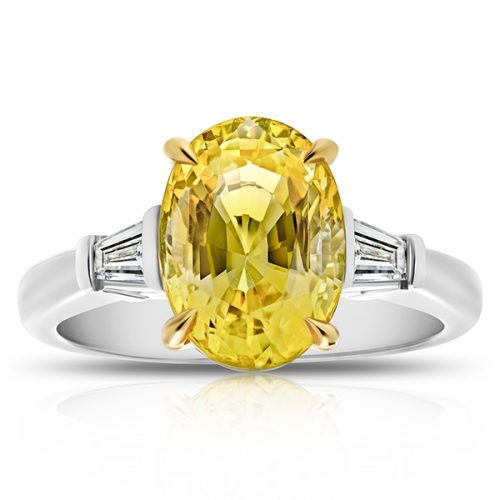 Oval-Yellow-Sapphire-Tapered-Baguette