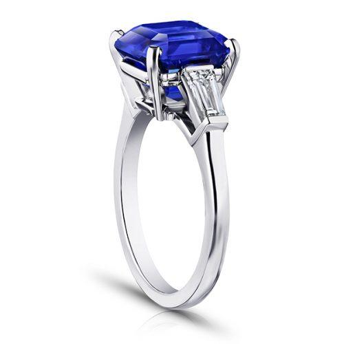 3-Stone Gemstone Engagement Ring